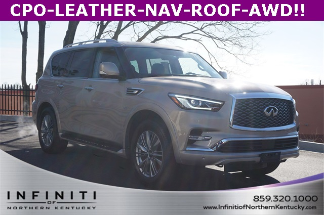 Certified Pre-Owned 2018 INFINITI QX80 Base