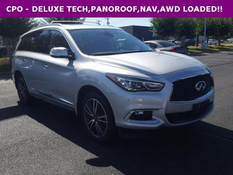 Certified Pre-Owned 2017 INFINITI QX60 DELUXE TECH