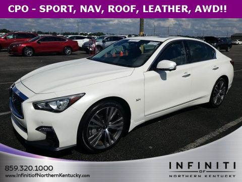 Certified Pre-Owned 2019 INFINITI Q50 Sport
