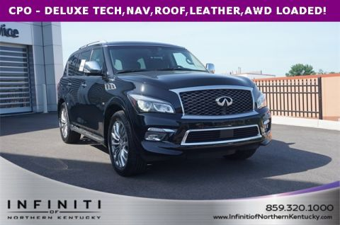 Certified Pre-Owned 2016 INFINITI QX80 DELUXE TECH