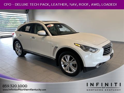Certified Pre-Owned 2016 INFINITI QX70 DELUXE TOURING